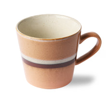 Load image into Gallery viewer, CERAMIC 70'S CAPPUCCINO MUG | STREAM