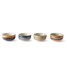 Load image into Gallery viewer, CERAMIC 70´S BOWLS MEDIUM SET OF 4 | HK LIVING
