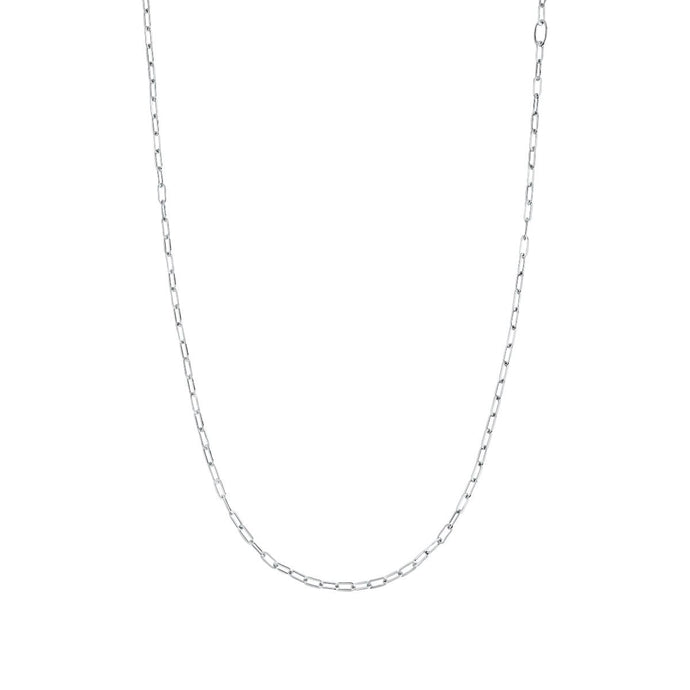 GEMMA NECKLACE  | WHITE RODHIUM