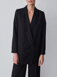 WATSON BLAZER | BLACK | JUST FEMALE