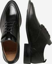 Load image into Gallery viewer, PRIME GLAZE DERBY SHOE | BLACK | ROYAL REPUBLIQ