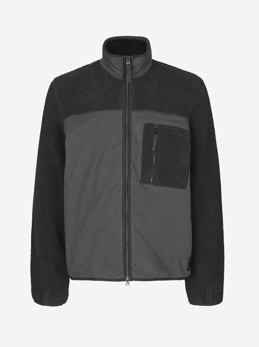 TIM FULL ZIP | BLACK | SAMSOE SAMSOE
