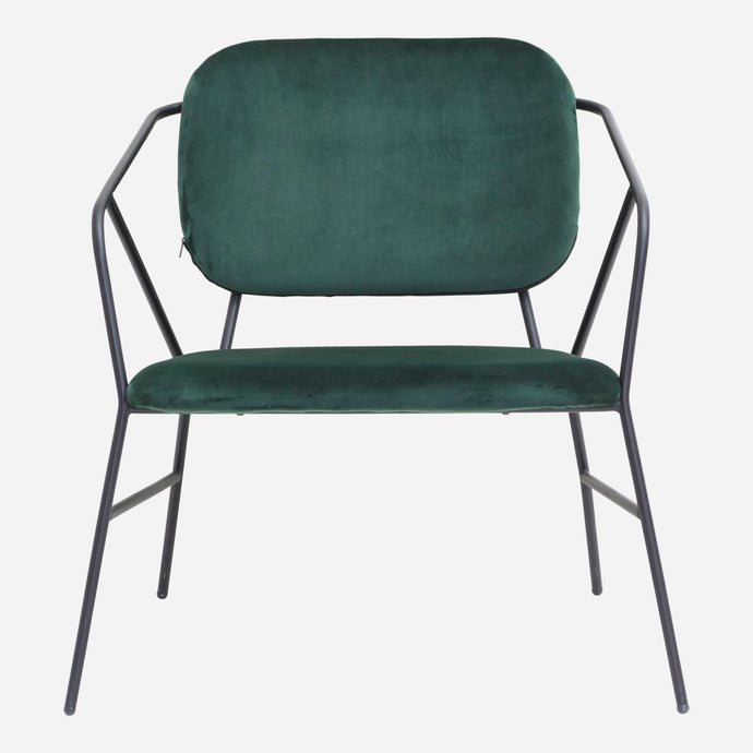 LOUNGE CHAIR KLEVER | GREEN