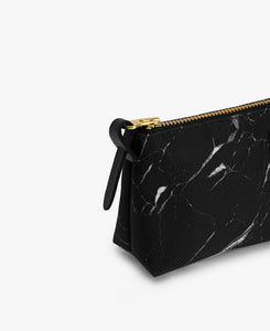 PENCIL CASE BLACK MARBLE | WOUF