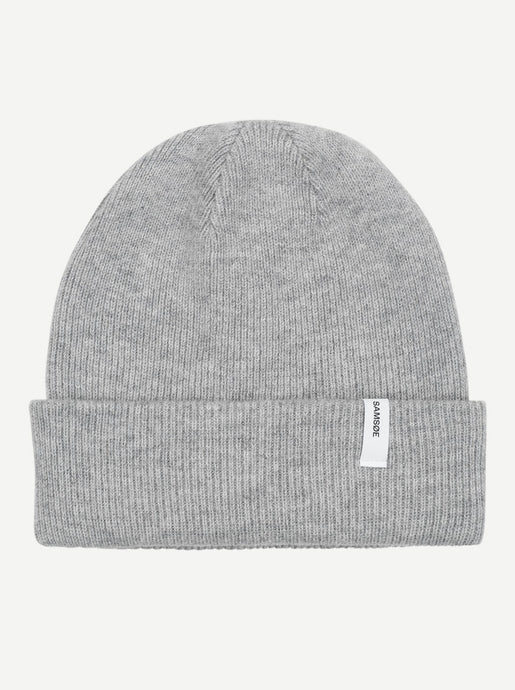 THE BEANIE | GREY MEL | SAMSOE SAMSOE