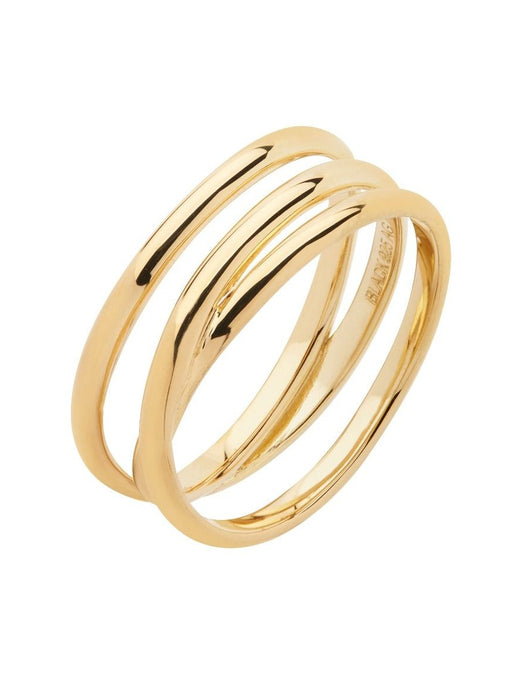 EMILIE WRAP RING | GOLD | MARIA BLACK