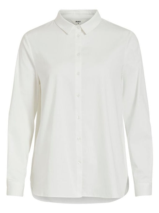 OBJROXA L/S LOOSE SHIRT | WHITE | OBJECT