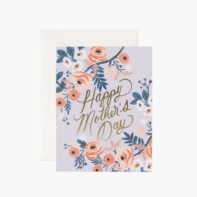 CARTE DOUBLE | ROSY MOTHER S DAY | RIFLE & CO
