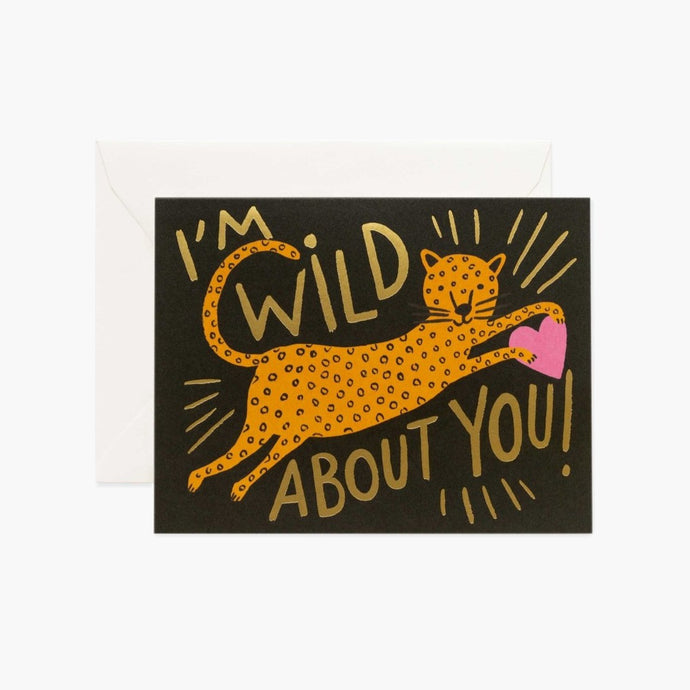 CARTE DOUBLE | WILD ABOUT YOU | RIFLE & CO