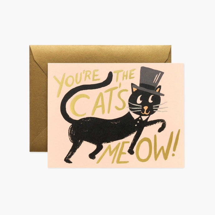 CARTE DOUBLE | CATS MEOW | RIFLE & CO