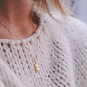 COLLIER REGARD | PLAQUE OR | TIROIR DE LOU