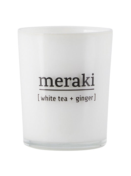 SCENTED CANDLE | WHITE TEA + GINGER | 60G
