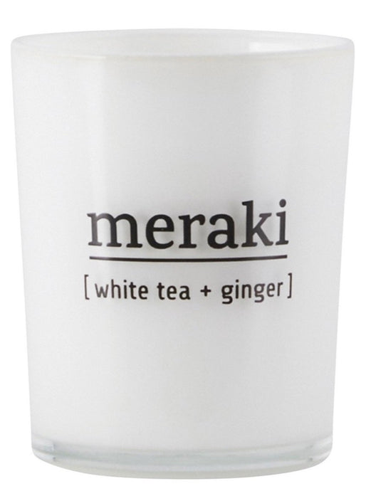 SCENTED CANDLE | WHITE TEA & GINGER | 220G