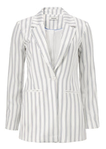 NATASHA BLAZER NARROW STRIPE