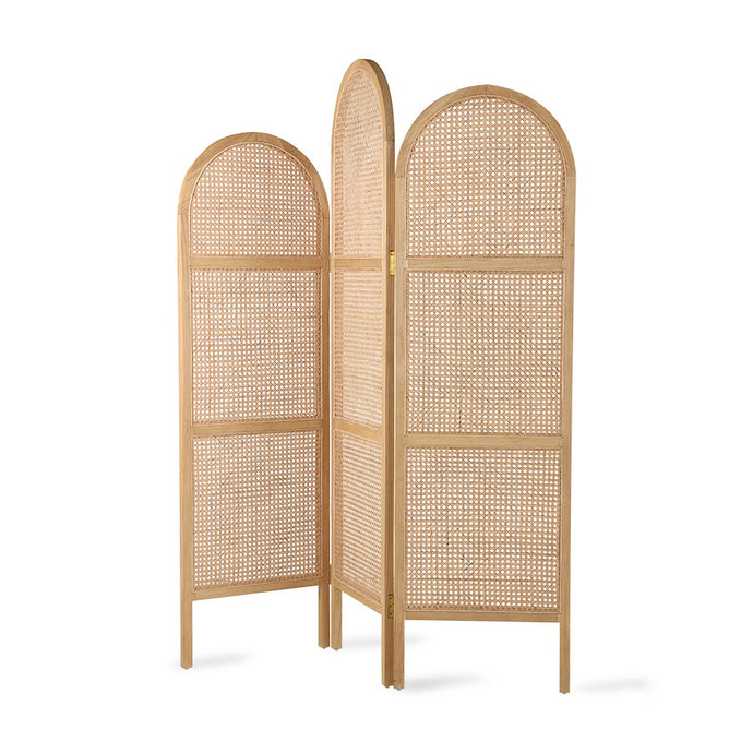 WEBBING ROOM DIVIDER | NATURAL