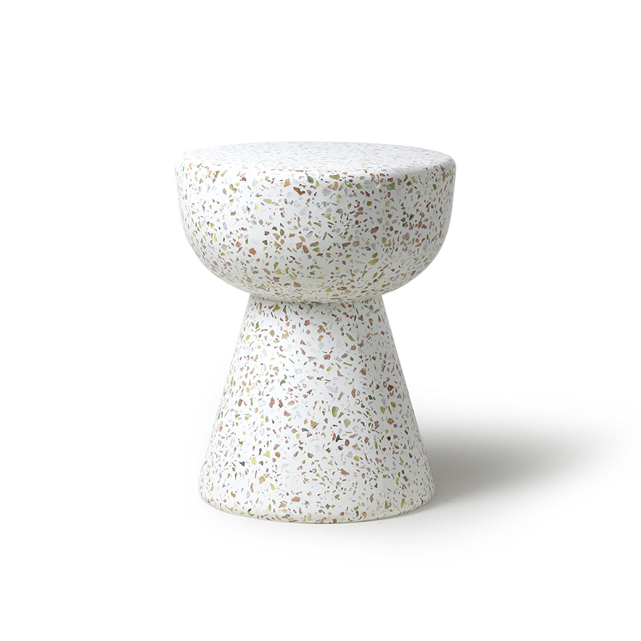 TERRAZZO SIDE TABLE | HK LIVING