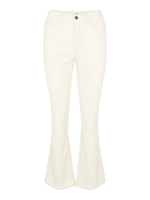 COATED FLARED PANT
