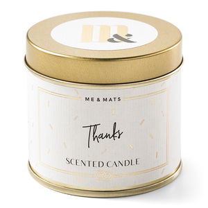 TIN CANDLE | THANKS | ME & MATS