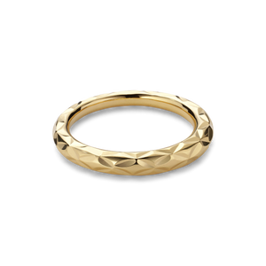 SMALL IMPRESSION RING | GOLD