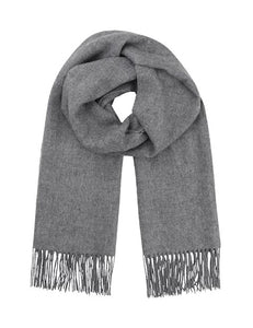STACY SID SCARF | LIGHT GREY | MBYM
