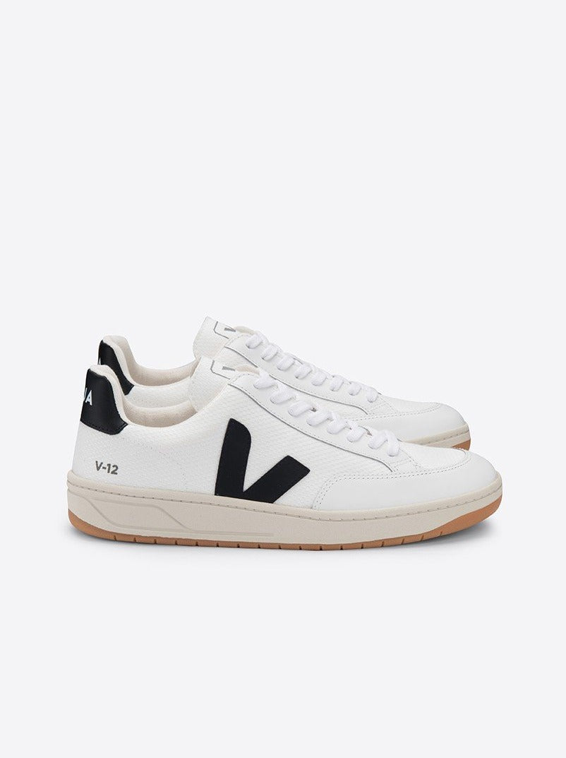 V-12 B-MESH | WHITE BLACK EXTRA WHITE | VEJA (MEN)