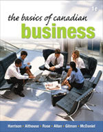 The Basics of Canadian Business