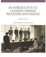 Custom Pub: An Introduction to Criminal Procedure and Evidence