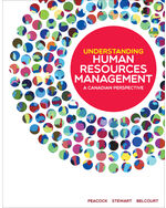 UNDERSTANDING HUMAN RESOURCES MANAGEMENT: A CANADIAN PERSPECTIVE, First Edition