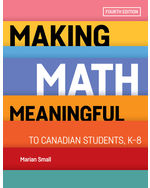 Making Math Meaningful to Canadian Students, K-8
