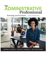 The Administrative Professional: Technology and Procedures