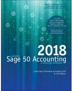 Learning Sage 50 Accounting 2018: A Modular Approach