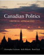 Canadian Politics: Critical Approaches