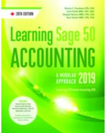 Learning Sage 50 Accounting 2019: A Modular Approach