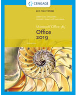New Perspectives on Microsoft Office 365 & Office 2019 Introductory