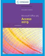 New Perspectives on Microsoft Office 365 & Access 2019 Comprehensive