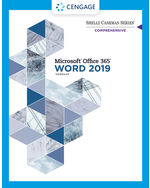 Shelly Cashman Series® Microsoft® Office 365® & Word 2019 Comprehensive