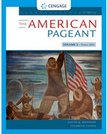 The American Pageant, 17e (Volume II)