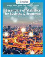 Essentials of Statistics for Business and Economics, 9e