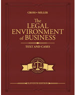 The Legal Environment of Business: Text and Cases, 11e