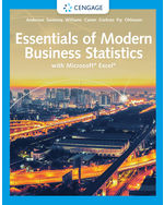 Essentials of Modern Business Statistics with Microsoft Excel, 8e