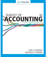 Survey of Accounting, 9e