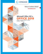 Shelly Cashman Series Microsoft Office 365 & Office 2019 Intermediate