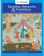 Societies, Networks, and Transitions: Global History, 4e