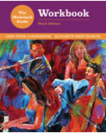 The Musician's Guide to Theory and Analysis Workbook