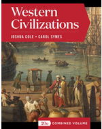 Western Civilizations, Combined Volume Paperback + Digital Product License Key Folder with eBook, InQuizitive, and History Skills Tutorials