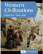 Western Civilizations, Volume Two Paperback + Digital Product License Key Folder with eBook, InQuizitive, and History Skills Tutorials