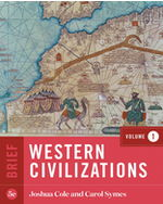 Western Civilizations, Volume One, Brief Edition Paperback + Digital Product License Key Folder with eBook, InQuizitive, and History Skills Tutorials