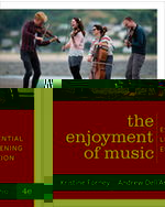 Enjoyment of Music, Essential Listening Edition Paperback + Digital Product License Key Folder with Total Access Registration Card