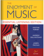 The Enjoyment of Music, Essential Listening Edition Paperback + Digital Product License Key Folder with Total Access Registration Card