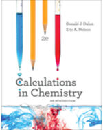 Calculations in Chemistry: An Introduction + Digital Product License Key Folder with eBook and Smartwork5